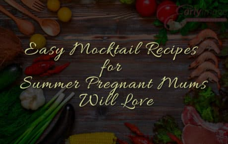 Easy mocktail Recipes foe Pregnant Mums